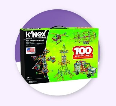 50% Off Toy Building Sets Sale - K'NEX, Lincoln Logs, & TinkerToys (TODAY ONLY!)