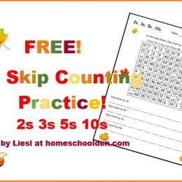 Free Fall Skip Counting Maze