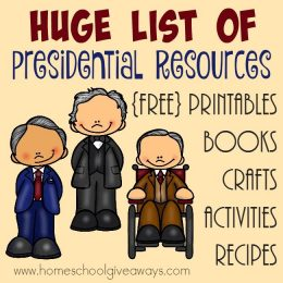 Free Presidential Unit Study Resources