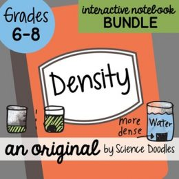 Free Density Interactive Notebook Bundle (76 Pages!)