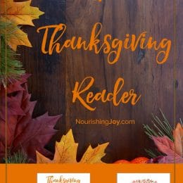 Free Thanksgiving Reader for Families