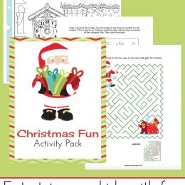 Free Christmas Activity Pack