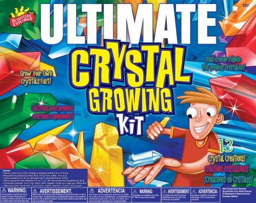 Scientific Explorer Ultimate Crystal Growing Kit Only $18.41! (Reg. $33!)