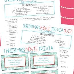 Free Christmas Movie Trivia Game