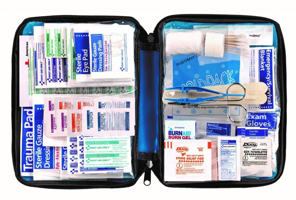 First Aid Kit w/ 299 Pieces Only $11.69! (56% Off!)
