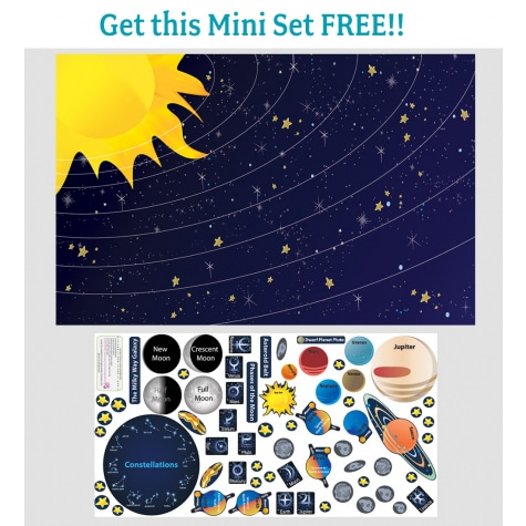Peel & Play Educational Wall Decal Sets Only $30.59 + Get a Mini Set FREE!