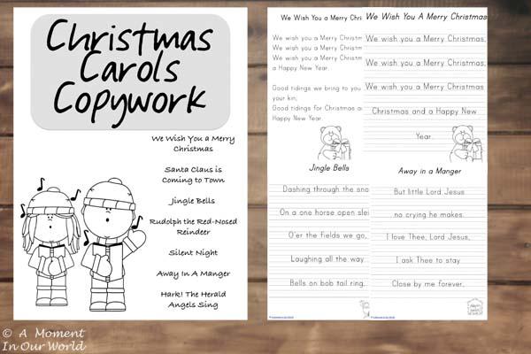 Christmas Carol Printable