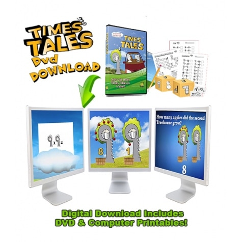 Times Tales Digital Program + Worksheets Only $11.01! (Reg. $22!)