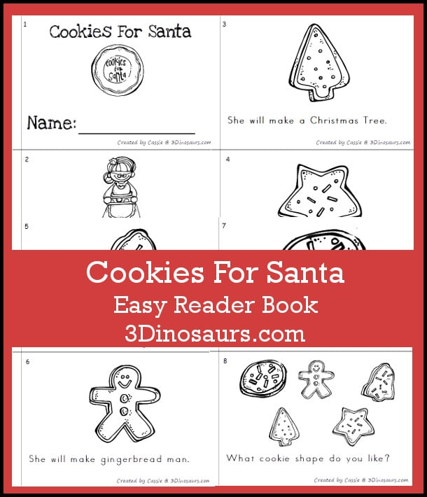 Free Cookies for Santa Reader