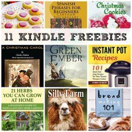 11 KINDLE FREEBIES: The Green Ember, Favorite Christmas Cookies + More!
