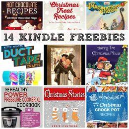 14 KINDLE FREEBIES: A Christmas Carol, Christmas Treat Recipes + More!