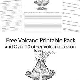 Free Volcano Printable Pack & Unit Study Resources