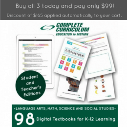 Complete Curriculum K-12 Bundle Only $99! (82% Off!)
