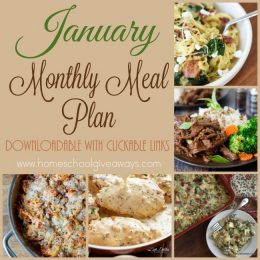 Free January Meal Plan