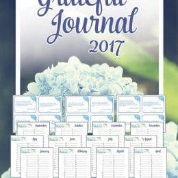 Free 2017 Grateful Journal