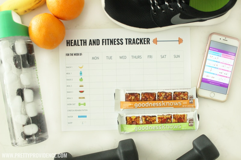 Free Printable Health and Fitness Tracker