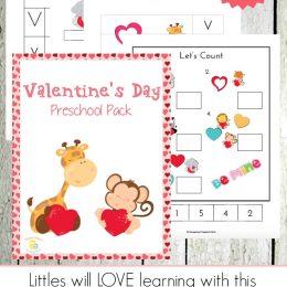 Free Valentines Day Preschool Printable Pack