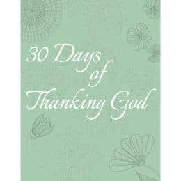 Free 30 Days of Thanking God Cards