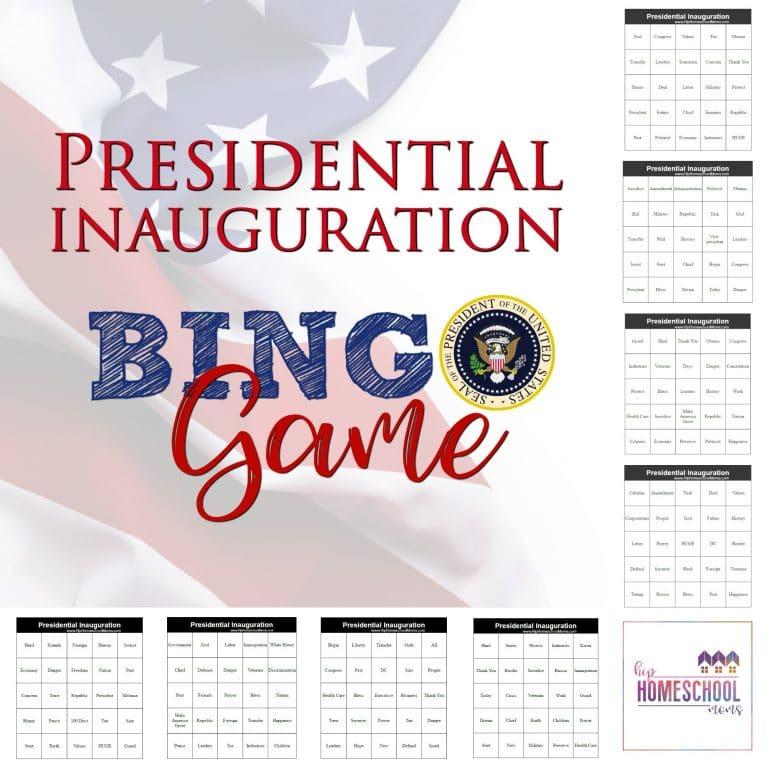 Free Presidential Inauguration Bingo Game