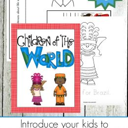 Free Children Around the World Writing Pack (70+ Pages!)