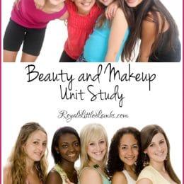 Free Beauty & Makeup Unit Study
