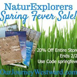 20% Off NaturExplorers Curriculum – Limited Time!