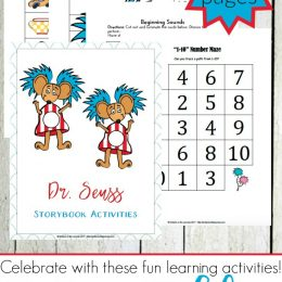 FREE Dr. Seuss Learning Pack for PreK-2 (68 Pages!)