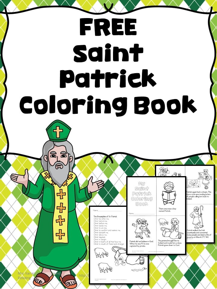 Free St Patrick 39 s Day Coloring