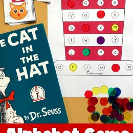 Free Cat in the Hat Inspired Alphabet Game