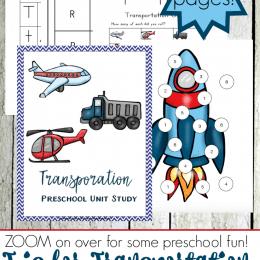 Free Preschool Transportation Printables (40 Pages!)