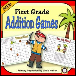 Free Pirate Addition Games