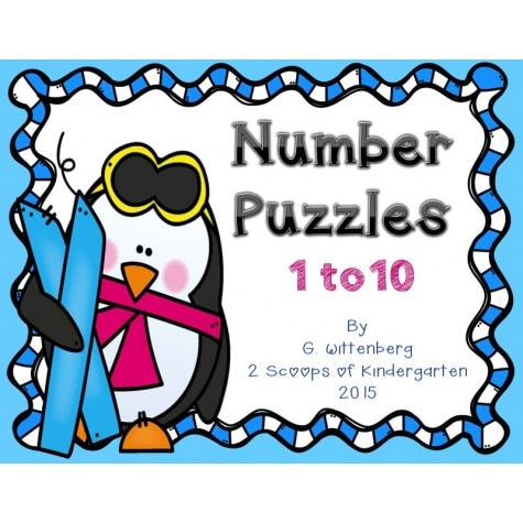 Free Penguin Number Puzzles