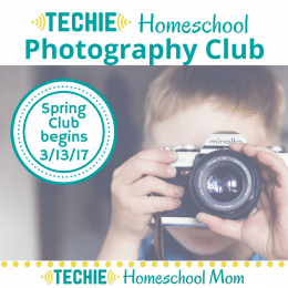 FREE Online Homeschool Photography Club (Reg. $25!) – Limited Time!