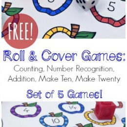 5 Free Roll & Cover Math Games!