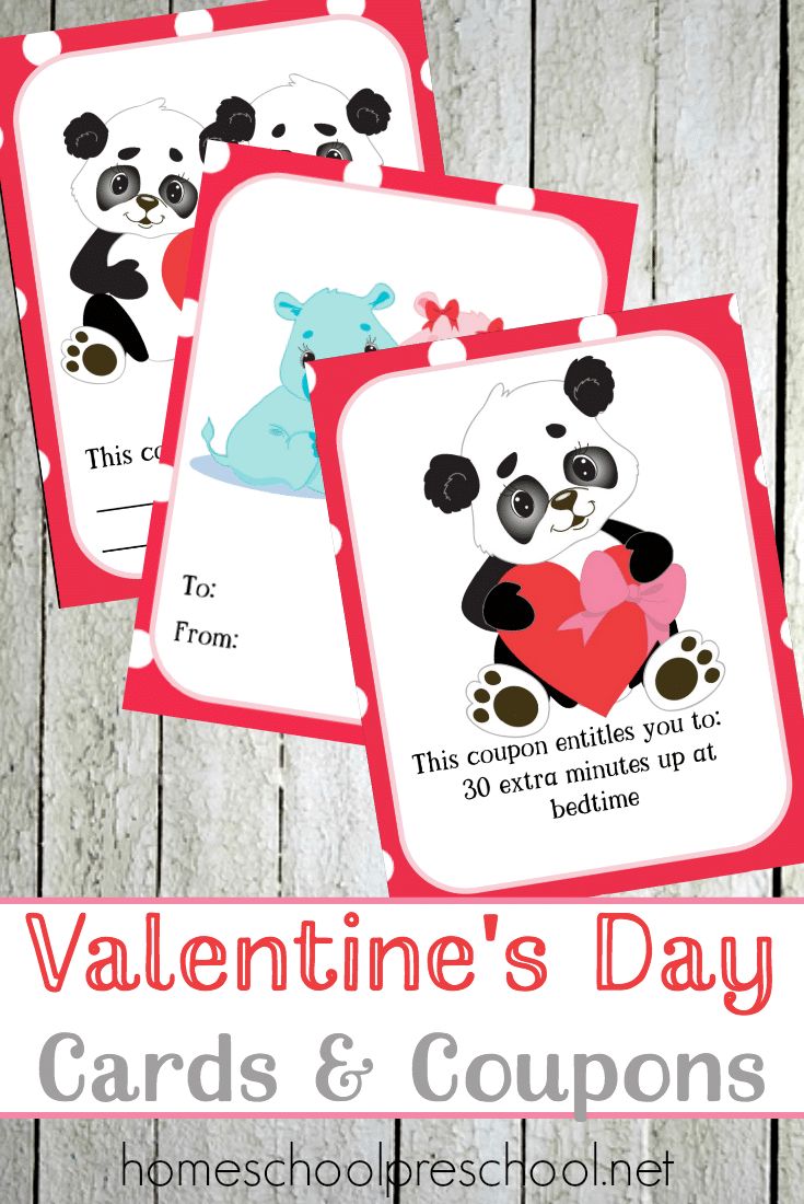 Free Valentine's Day Cards & Coupons