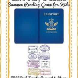 Free Book Traveler Passport Reading Adventure