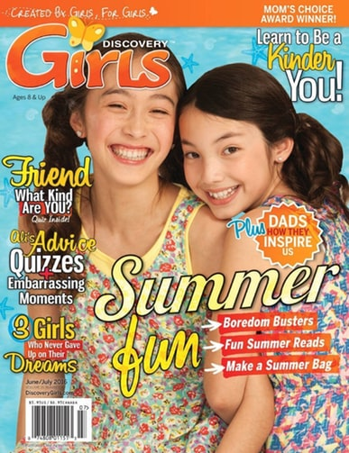 Discovery Girls Magazine Only $15.99/Year - 40% Off!