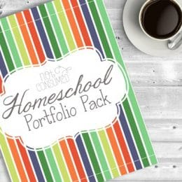Homeschool Portfolio Pack Only $15! (Reg. $25)