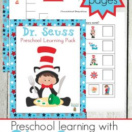 Free Dr. Seuss Preschool Printables