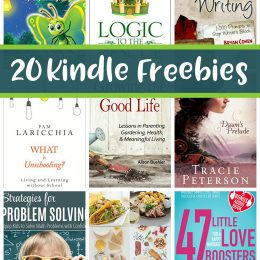 20 Free Kindle Books: Growing the Good Life, Logic to the Rescue, & More!