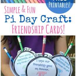 Cute Pi Day Printable Cards Freebie