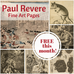 Free Paul Revere Fine Arts Pages