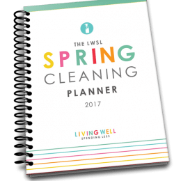 Free 2017 Spring Cleaning Calendar – Limited Time