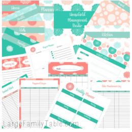 THE BEAUTIFUL HOUSEHOLD MANAGEMENT BINDER KIT – FREE ($12.99 Value!)