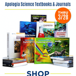 35% Off Apologia Science Textbooks & Journals