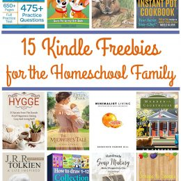 15 KINDLE FREEBIES: Instant Pot Cookbook, SAT Prep Guide, Hygge, & More!