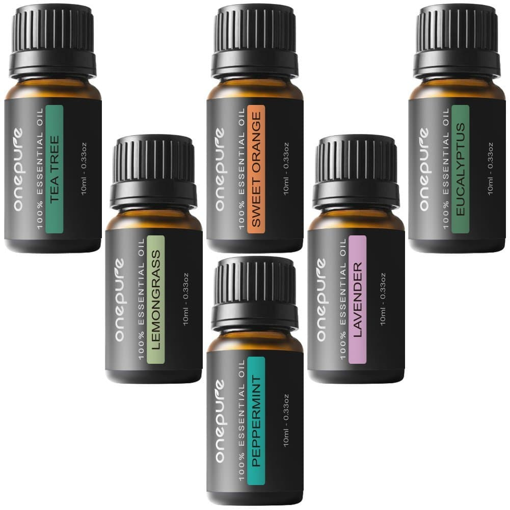 Essential Oil 6 Bottle Set Only $15.95! (80% Off!)