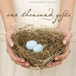 One Thousand Gifts eBook Only $1.99! (91% Off!)