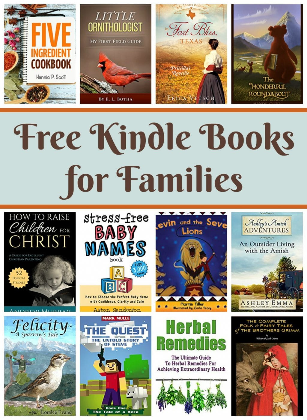 Free Kindle Books for Families