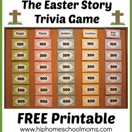 Free Easter Story Trivia Game